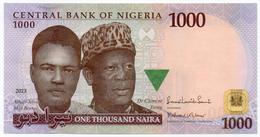 #07. NIGERIA. 1000 NAIRA. 2013. UNC / NEUF. - Nigeria