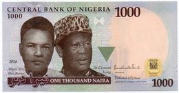 #07. NIGERIA. 1000 NAIRA. 2014. UNC / NEUF. - Nigeria