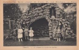 Missions - Religieuses Congrégation St-Joseph Cluny Paris - Tahiti Grotte De Lourdes - Missions