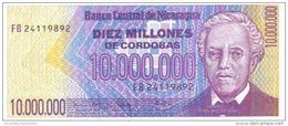 NICARAGUA 10000000 CORDOBAS ND (1990) P-166 UNC  [NI460a] - Nicaragua