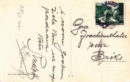 1.50 Kuna NDH 20.XII.1941 Cancellation On Christmas Postcard - Kroatien