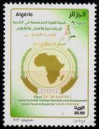 ALGERIE ALGERIA 2017 1 V Mint** African Union Work Employment Travail Emploi Arbeit Beschäftigung Trabajo Y Empleo