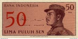INDONESIA 50 SEN 1964 P-94 UNC  [ID547a] - Indonesia