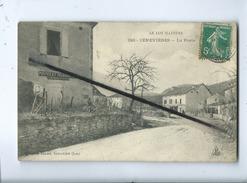 CPA - Le Lot Pittoresque  - 923 - Cènevières - La Poste  (Postes Et Télégraphes Caisse D'épargne Postale ) - Frankreich