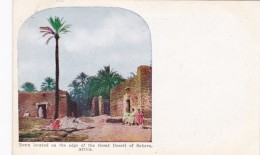 Africa Town Located On The Edge Of The Great Desert Of Sahara - Other