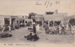 Tunisia Gabes PLace Saussier A Mentzel - Tunisia