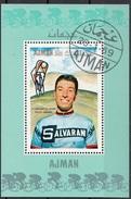 Bf. 81 Ajman 1969 Ciclismo Felice Gimondi Foglietto Perf. Nuovo Preoblit.. - Cyclisme