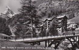 Switzerland Zermatt Le Nouveau Pont Et Mont Cervin Photo - VS Valais