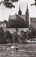 Switzerland Basel Muenster Und Rheinfaehre Photo - BS Bâle-Ville