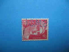 Perforé  Perfin  Référence Ancoper France  : SMC174 - Perforés