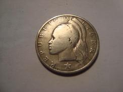 MONNAIE LIBERIA 25 CENTS 1968 - Liberia