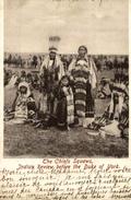 1905   TRES RARE    THE CHIEFS SQUAWS  INDIAN REVIEW BEFORE THE DUKE OF YORK - Indios De América Del Norte
