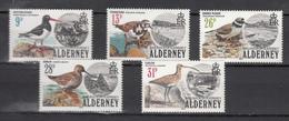 Alderney 1984,5V ,set,birds,vogels,vögel,oiseaux,pajaros,uccelli,MNH/Postfris(A3292) - Unclassified
