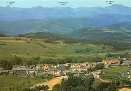 Saint-Agrève.. Belle Vue Du Village La Chaîne Des Cévennes - Saint Agrève
