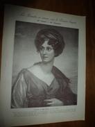 1901 :Mme Grand ,Mme Récamier (portraits);Basilique Sainte-Sophie à Constantinople;Les Petits Métiers Au 18e Siècle;etc - Vieux Papiers