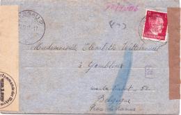 KRIEGSGEFANGENEN Bzw. ZWANGSARBEITER POST  Aus Dessau / Sachsen-Anhalt  1943 - Dessau