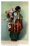 NAVAJO MOTHER AND PAPOOSE - Indios De América Del Norte