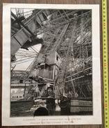 ENV 1900 A L EXPOSITION CHEMIN DES ASCENSEURS PERMIER ETAGE DE LA TOUR EIFFEL DE PEULOT - Sammlungen