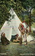 Native American Indian Postcard   HIAWATHA - Indios De América Del Norte