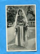 PALESTINE-Jeune Femme En Costume Traditionnel--années 20-30 édition  L&C - Palestine
