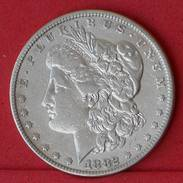 USA 1 DOLLAR 1882 - 26,73 GRS 0,900 SILVER   KM# 110 - (Nº18263) - 1878-1921: Morgan
