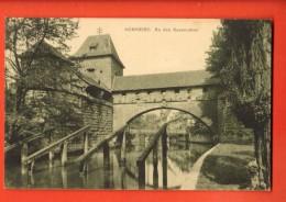 D1369  Nürnbberg  An Den Kasematten. Gelaufen In 1910 Nach Schweiz. - Nuernberg