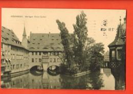 D1372  Nürnberg  Heiliges Geist-Spital. . Gelaufen In 1910 Nach Schweiz. - Nuernberg