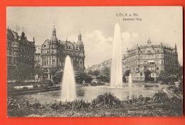 D1374   Köln Cöln Cologne. Deutscher Ring  . Gelaufen In 1910 Nach Schweiz. - Koeln