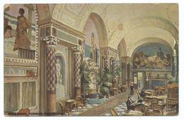 CPA WIESBADEN - Kurhaus - Muschelsaal - Ecrite 1922 - Oilette Serie Kurhaus N° 2001 - Wiesbaden
