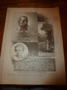 1901:Pélerins De Ste-Odile (Alsace);Maison De Racine Rue Champollion;Roustisseur;Horloges Anc.;Pavie;Estampe Bizarre;etc - Vieux Papiers