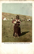 Winnipeg Jack , Blackfoot , Canadian North-West - Indios De América Del Norte