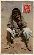 Moki Indian Cigarette Smoker - Indios De América Del Norte