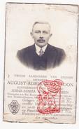 DP Foto August Adriaan Van Loon ° Nieuwmoer Kalmthout Antwerpen 1883 † 1938 X Anna Maria Van Looveren - Images Religieuses