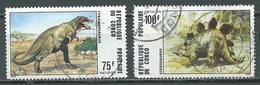 Congo YT N°402-404 Animaux Préhistoriques Oblitéré ° - Congo - Brazzaville