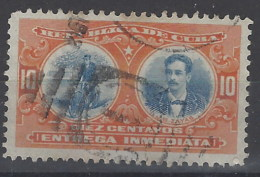 Cuba Expres U 03 (o) Usado. 1910 - Francobolli Per Espresso