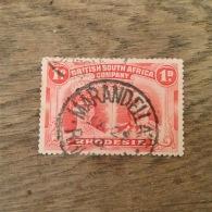 RHODESIA 1910 1d Bright Carmine  FU 'Marandella' CDS SG123 - Rhodésie Du Sud (...-1964)