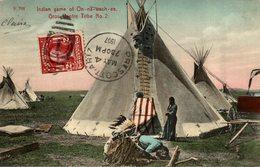1907  INDIAN GAME OF ON NA WACH EE GROS VENTRE TRIBE - Indios De América Del Norte