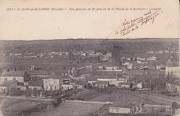 CPA  (33)  St-JEAN-de-BLAIGNAC.  Vue Générale De St-Jean Etde La Plaine De La Dordogne à Lavagnac ...T969 - France