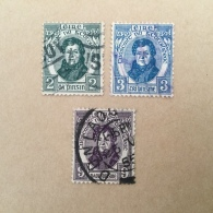IRELAND 1929 Daniel O'Donnell Set Vfu Scott 80-82 - Used Stamps