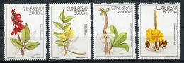 Guinea Bissau, 1994, Medicinal Plants, Flowers, Flora, Medicine, Health, MNH, Michel 1203-1206 - Guinea-Bissau