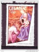Ghana, Noël, Peinture, Tableau, Religion, Nativité, Rois Mages, Kings, Madonne, Christmas, Magi, Art, Painting, Nativity
