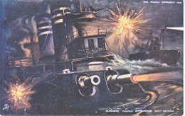 JAPAN  RUSSO-SINO WAR  PPC  MINT  TUCK  OILETTE  BOMBARDING  PORT  ARTHUR - Japan