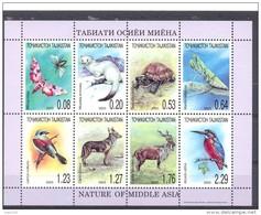 2003.Tajikistan, Fauna Of Middle Asia, Sheetlet Perforated, Mint/** - Tadschikistan
