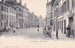 MORGES : Rue Du Lac - Carte Animée Oblitérée Le 19.VII.1904 - VD Vaud
