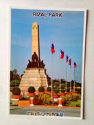 Philippines Postcard Rizal Park - Philippinen