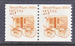 U.S.  2136 X 2  **   BREAD  WAGON - Coils & Coil Singles