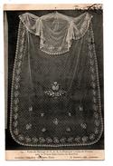 MODE Voile De Mariage, De La Princesse Louise De France Avec Le Prince Don Carlos De Bourbon . Dentelles - Réf. N°2005 - - Mode