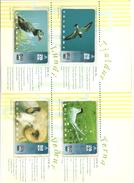 FAROE ISLANDS - Set Of 4 Animals - MINT IN PRESENTATION FOLDER - Faroe Islands