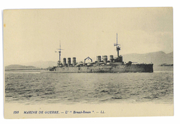 CPA MARINE DE GUERRE L' ERNEST-RENAN - Warships