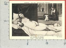 CARTOLINA NV ITALIA - VENEZIA - Mostra Di Tiziano 1935 - La Venere Di Urbino - 10 X 15 - Esposizioni